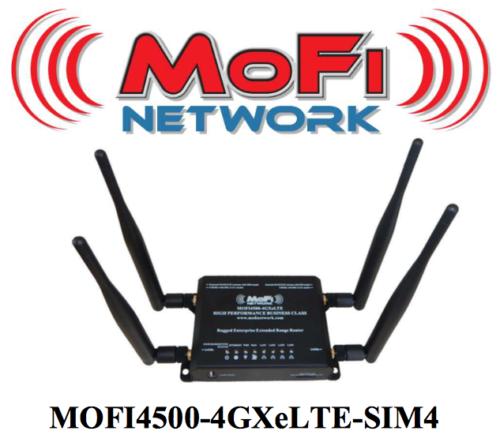 MOFI4500-4GXeLTE-SIM4 4G/LTE Router